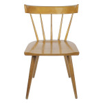 Brown wooden chair 28''H x 19''D