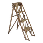 """Wooden ladder for shoes 40.5""""H"""