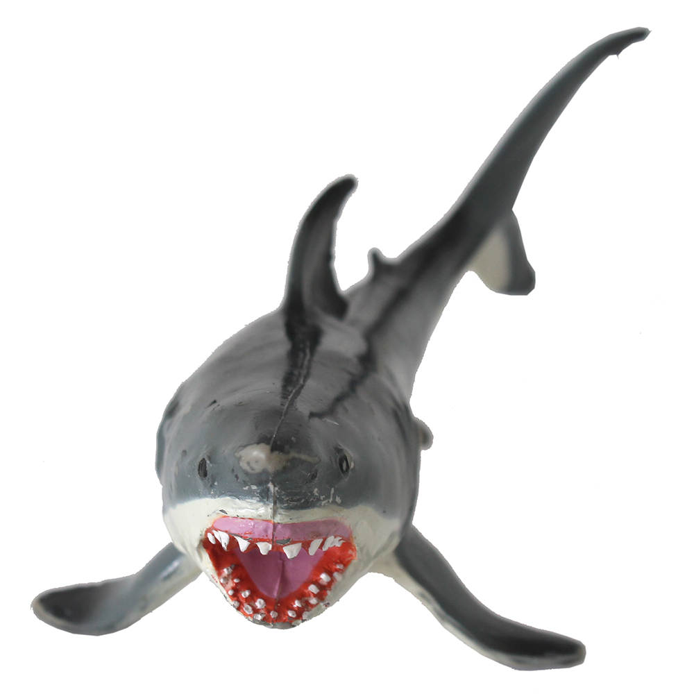 Cool Shark Toys : Plastic great white shark toy