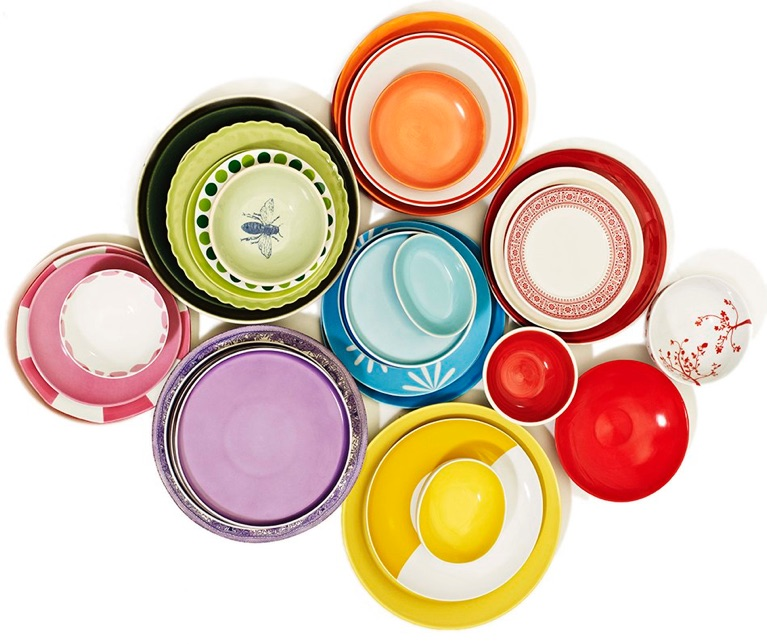 Colorful Dishware