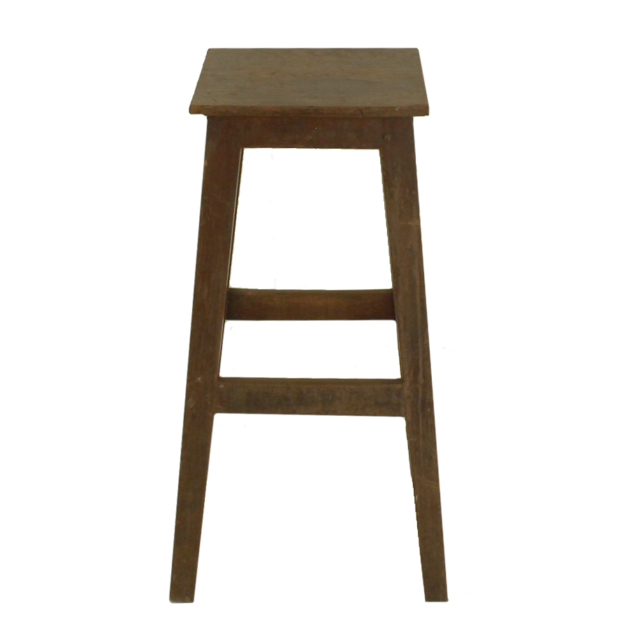 Marvelous Tall Square Wood Stool Squirreltailoven Fun Painted Chair Ideas Images Squirreltailovenorg